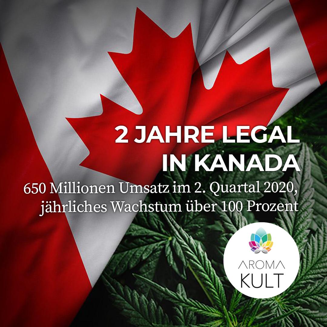 Legal state Canada: Ziehen USA und Neuseeland nach?