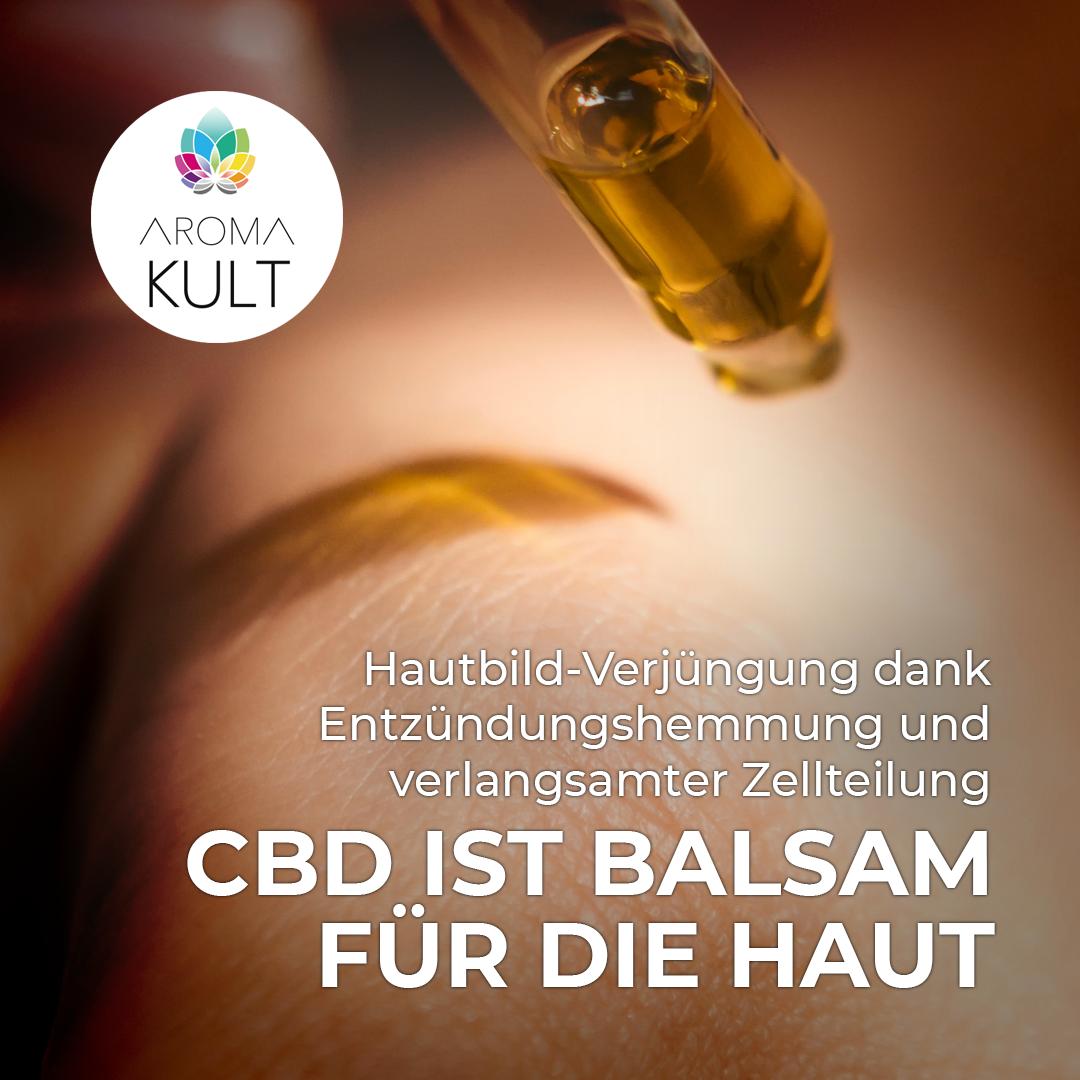 Natürliches CBD in Kosmetik kürzlich legalisiert
